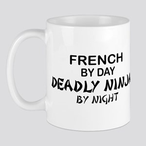 French Deadly Ninja by Night Mug